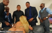 MILF Ryan Conner gets 5 Huge Black Dicks